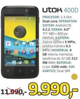Mobilni telefon 400d