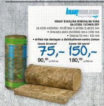 Staklena mineralna vuna Classic 044