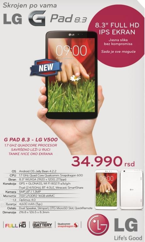 Tablet G Pad 8.3