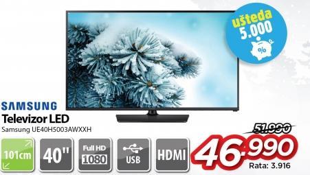 """Televizor LED 40"""" Ue40h5003awxxh"""