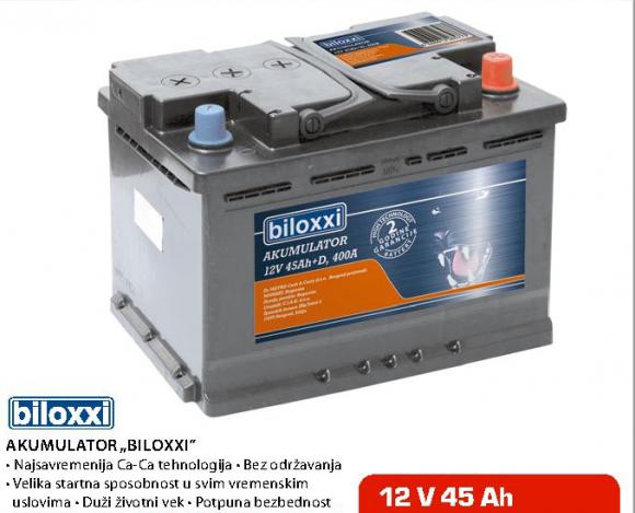 Akumulator ''Biloxxi'', 45Ah