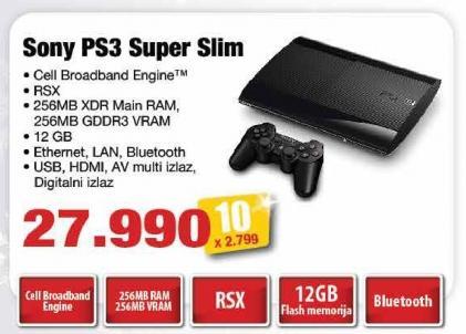 Konzola Ps3 Super Slim