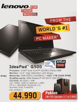 Laptop IdeaPad G500 59390515