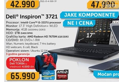 Laptop  3721-i5-1TB