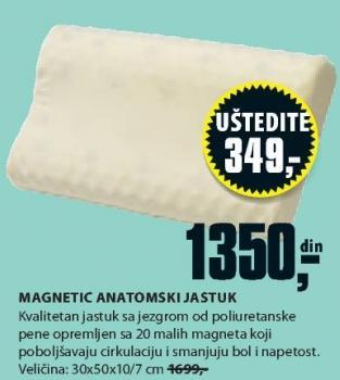 Anatomski jastuk Magnetic