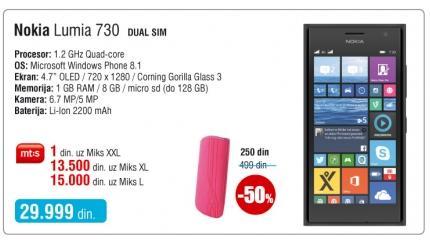 Mobilni telefon Lumia 730