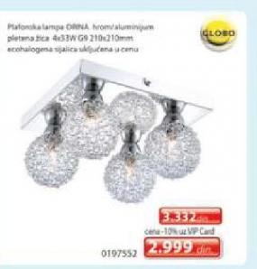 Plafonska lampa Orina