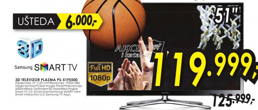 Televizor 3D Plazma PS-51F5500