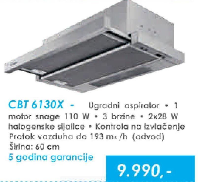 Aspirator CBT 6130 X