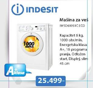 MAŠINA ZA VEŠ IWSD61051C ECO