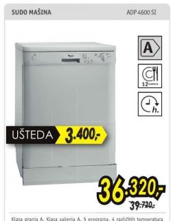 sudomašina ADP 4600 SI