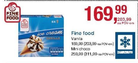 Sladoled choco mini