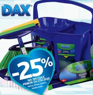 -25%  Dax pribor za čišćenje