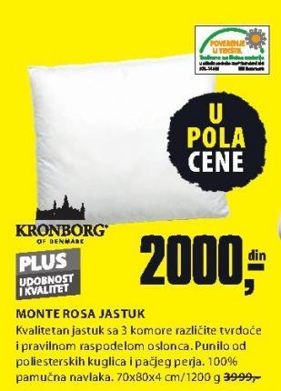 Jastuk Monte Rosa