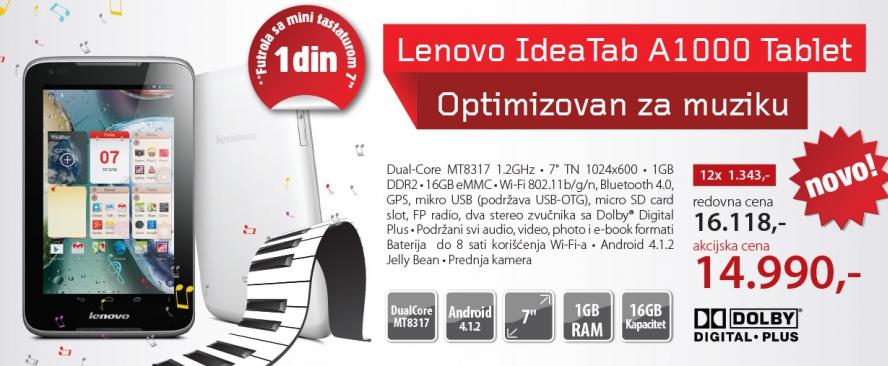 Tablet IdeaTab A1000