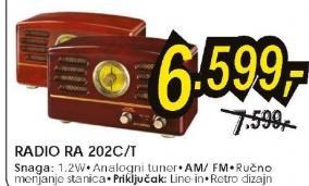 Radio RA 202C,T