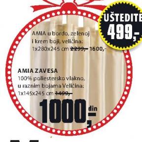 Zavesa AMIA