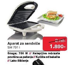 Aparat za sendviče SM 701
