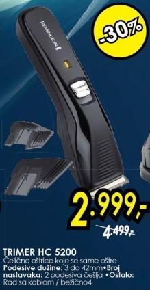Trimer Hc5200