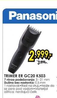 Trimer ER-GC20-K503