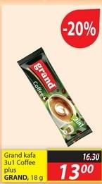 Kafa instant 3u1 coffe plus