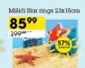 mišići za plivanje ''Star rings''