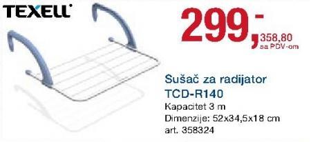 Sušač za radijator Tcd-R140