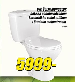WC šolja monoblok