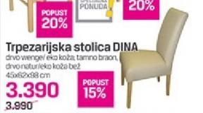 Trpezarijska stolica Dina
