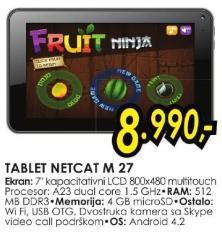 Tablet Netcat M 27