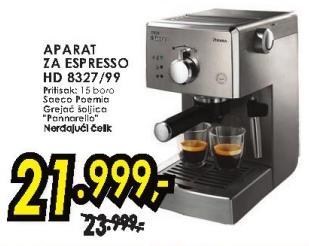 Aparat za espesso Hd 8327/99