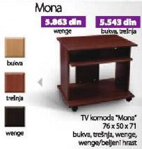Komoda TV Mona wenge