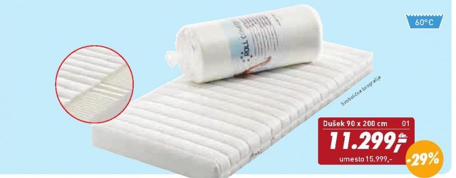 Dusek 90 x 200 cm Roll Comfort