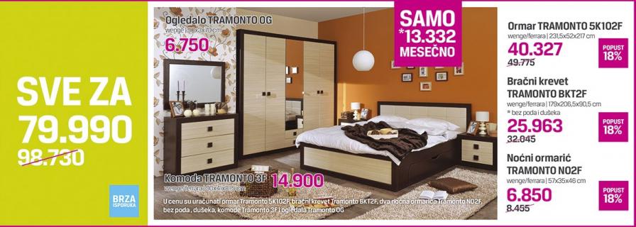 Bračni krevet Tramonto BKT2F