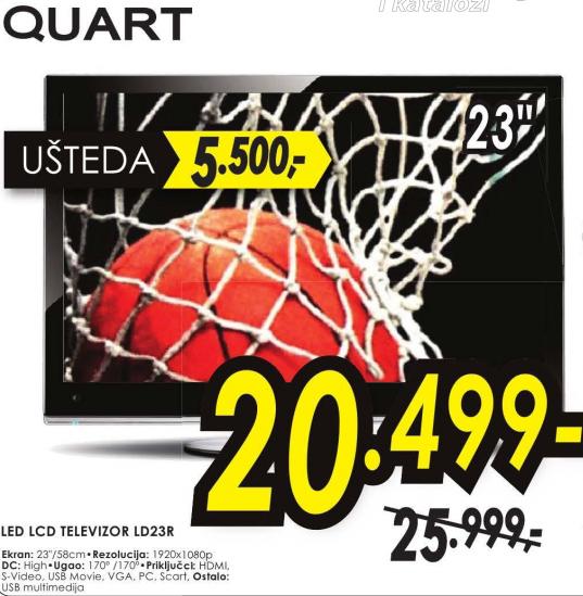 Televizor  LED LD23R