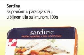 Sardina sa povrćem
