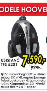 Usisivač TFS 5201