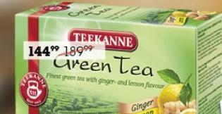 Čaj zeleni sa limunom i đumbirom