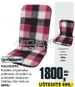 Baštenski jastuk Haldbjerg Sungarden
