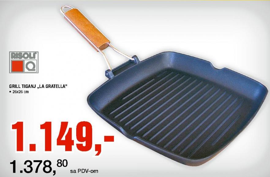Tiganj grill ''La Gratella''