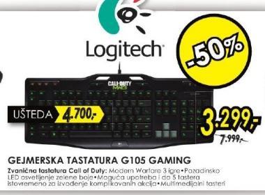 Tastatura G105 Gaming