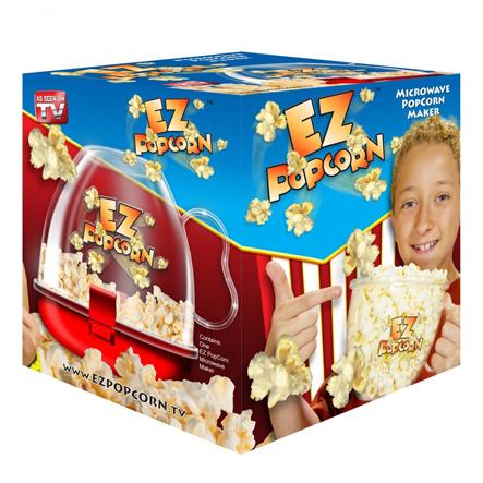Ez Popcorn - Posuda za spremanje kokica u mikrotalasnoj pećnici