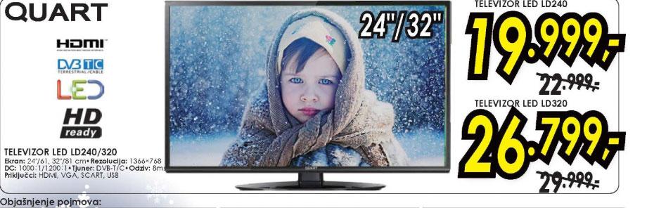 Televizor LED LCD LD320