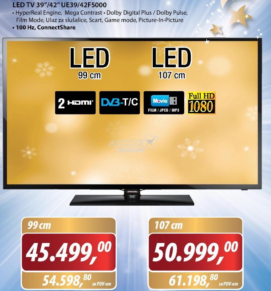 Televizor LED UE42F5000