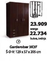 Garderober 3k3f