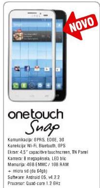 Mobilni telefon ONE TOUCH Snap