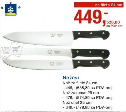 Nož chef