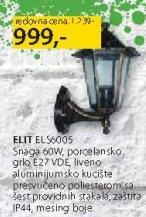 Baštenska lampa Elit S6005