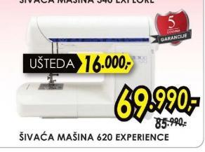 Šivaća Mašina 620 eXperience