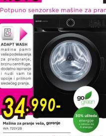 Mašina za pranje veša WA72SY2B